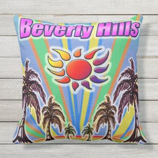 Coussin d'amour d'été de Beverly Hills