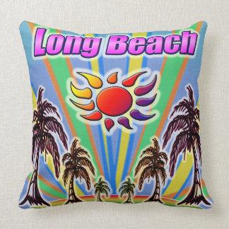 Coussin d'amour d'été de Long Beach