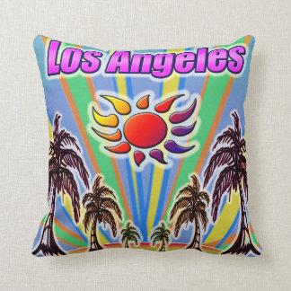 Coussin d'amour d'été de Los Angeles