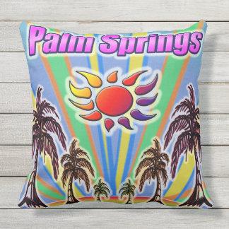 Coussin d'amour d'été de Palm Springs