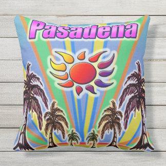 Coussin d'amour d'été de Pasadena
