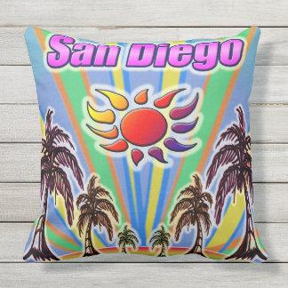 Coussin d'amour d'été de San Diego