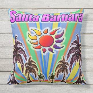 Coussin d'amour d'été de Santa Barbara