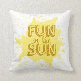 Coussin d'amusement au soleil