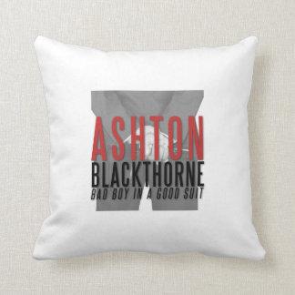 Coussin d'Ashton Blackthorne