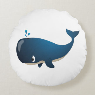 """Coussin de baleine de """"petit de bébé joint"""