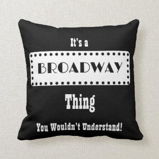 Coussin de Broadway