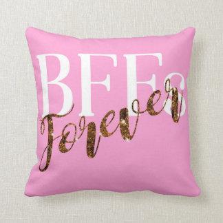 Coussin de cadeau de jour de Valentines de BFFs