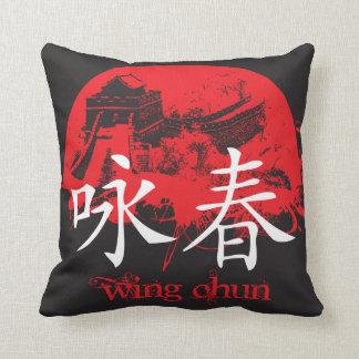 Coussin de Chun d'aile
