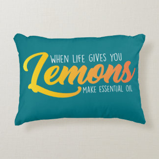 Coussin de citrons