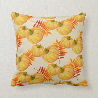 Coussin de citrouille de récolte d'automne