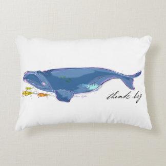 """Coussin de corps """"de baleine droite d'Atlantique"""