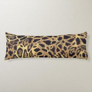 "Coussin de corps de polyester de léopard (20"" x"