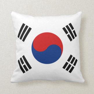 Coussin de drapeau du drapeau X de la Corée du Sud