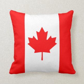 Coussin de drapeau du drapeau X du Canada