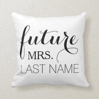 Coussin de future épouse