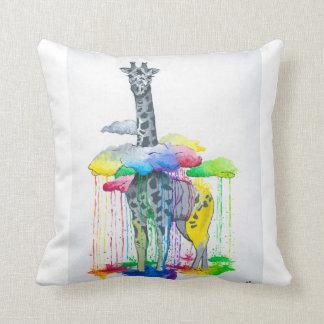 Coussin de girafe