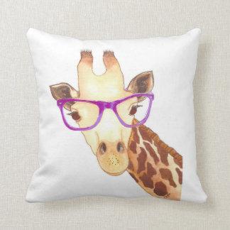 Coussin de girafe de hippie
