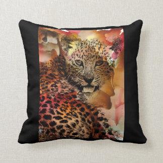 Coussin de guépard, décor à la maison animal