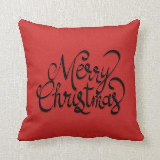 Coussin de Joyeux Noël
