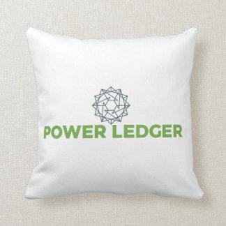 Coussin de logo du registre POWR de puissance