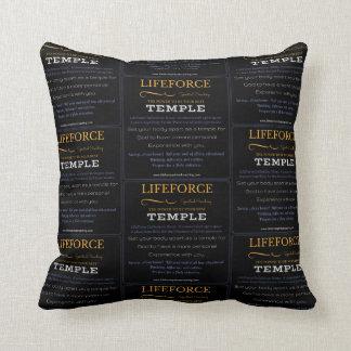 Coussin de méditation de LifeForce : TEMPLE