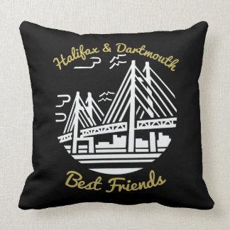 Coussin de meilleurs amis de la Nouvelle-Écosse