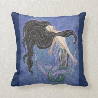 Coussin de Mermaiden - art de sirène