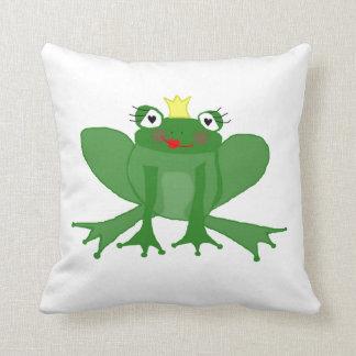 coussin de Mlle princesse Frog de coussin