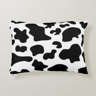Coussin de motif de vache