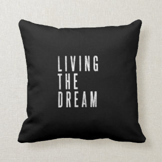 Coussin de motivation de décor de salon ou de lit