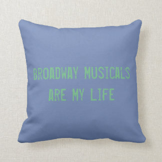 Coussin de musicaux de Broadway