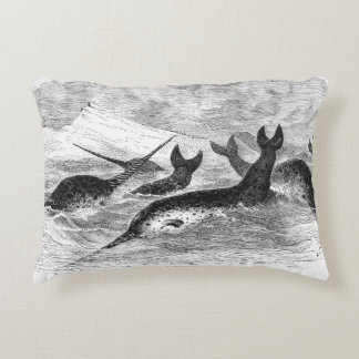 Coussin de Narwhals