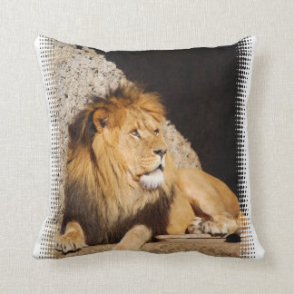 Coussin de photo de lion