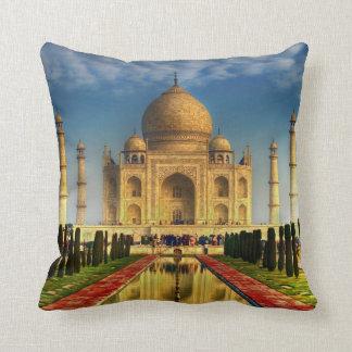 Coussin de photo du Taj Mahal