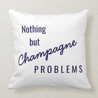 Coussin de problèmes de Champagne