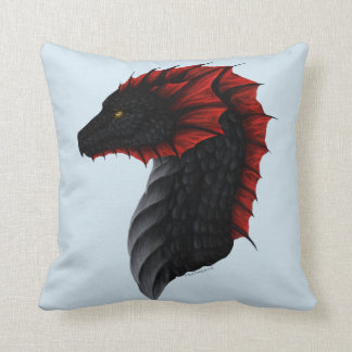 Coussin de profil de dragon d'Alavon