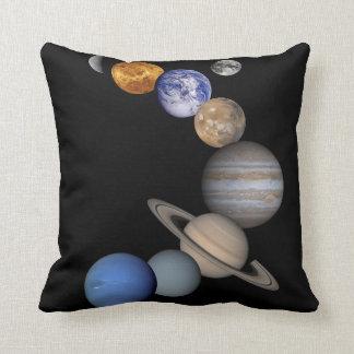Coussin de système solaire pour votre sofa ou lit