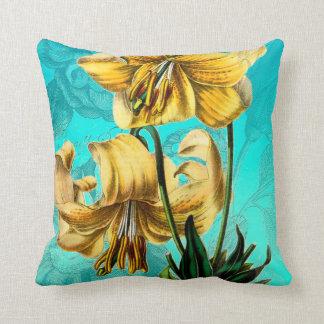 Coussin De tigre bleu lilly