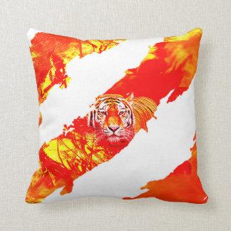 Coussin de tigre du feu