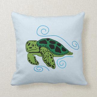 Coussin de tortue de mer