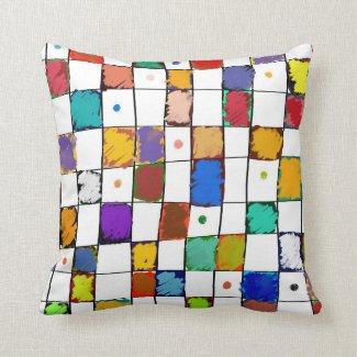 Coussin décoratif carré