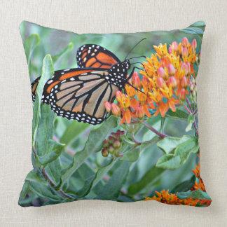 Coussin décoratif de papillon