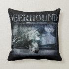Coussin Deerhound grunge