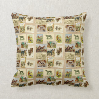 Coussin Deerhound Vintage