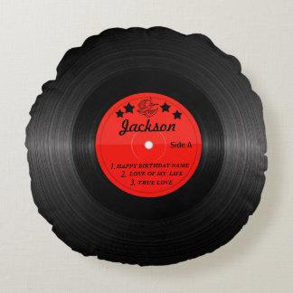 Coussin d'étiquette de disque vinyle - tous titres