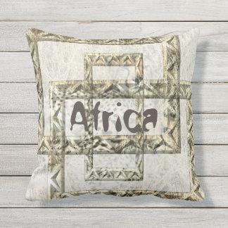 Coussin D'extérieur Arrière - plan de guépard de l'Afrique avec des