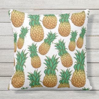 Coussin D'extérieur Carreaux de motif d'ananas