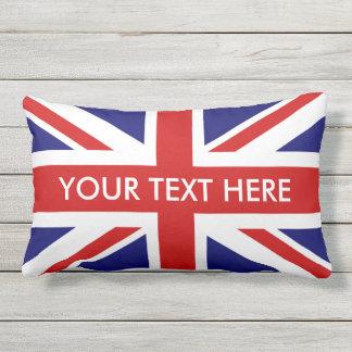 Coussin D'extérieur Carreaux extérieurs de drapeau britannique d'Union
