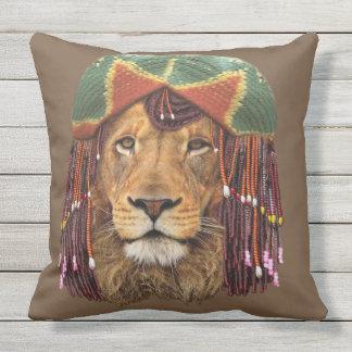 Coussin D'extérieur Rastafarian-lion
